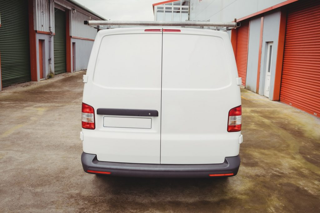 Picture of a white van
